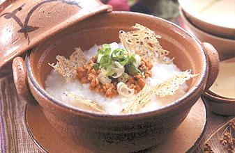 納豆七草粥