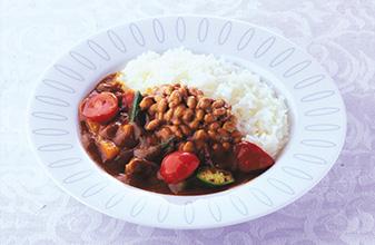 夏季蔬菜納豆咖哩