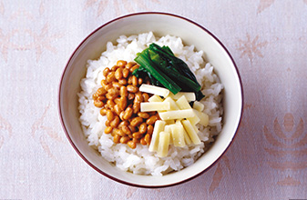 起司納豆蓋飯